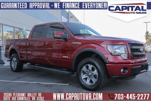 2014 FORD F-150 FX4 Chantilly VA