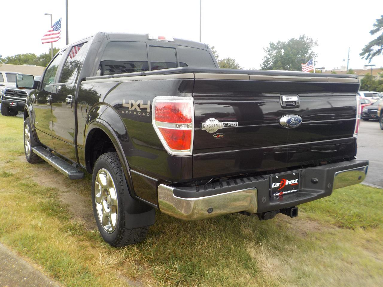 2014 FORD F-150 KING RANCH SUPERCREW, LEATHER, SUNROOF, HEATED/COOLED SEATS, NAV, TOW PKG, 1 OWNER! Virginia Beach VA