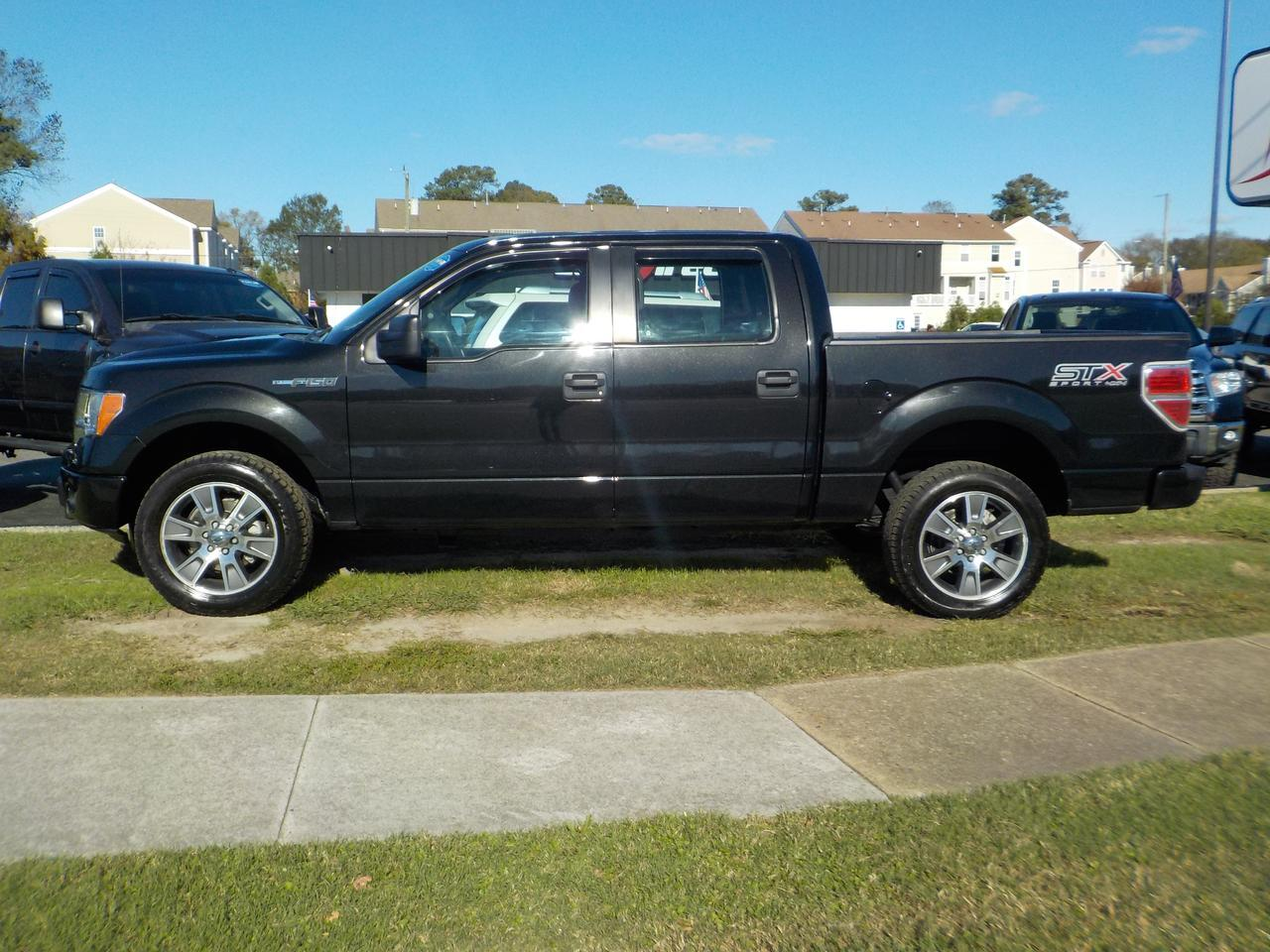 2014 FORD F-150 STX SUPERCREW 4X4, BLUETOOTH, REMOTE START, TOW PACKAGE, BEDLINER, EXTRA CLEAN! Virginia Beach VA