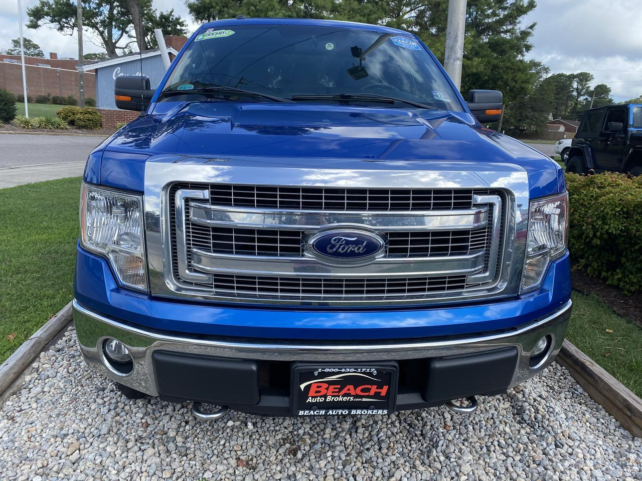 2014 FORD F-150 XLT SUPERCAB 4X4, WARRANTY, AUX/USB PORT, RUNNING BOARDS, CRUISE CONTROL, 1 OWNER, CLEAN CARFAX! Norfolk VA