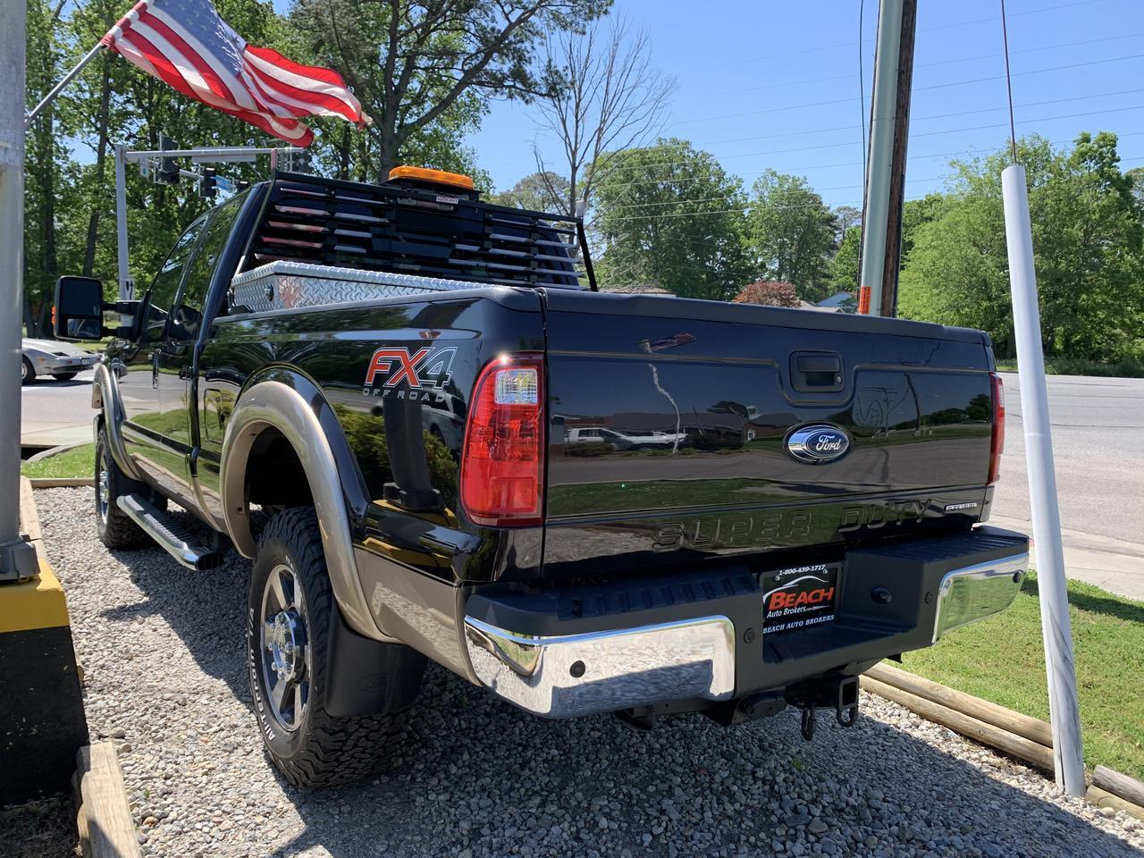 2014 FORD F-250 SUPER DUTY LARIAT SUPERCAB 4X4, WARRANTY, LEATHER, FX4 OFF ROAD PKG, HEATED SEATS, BACKUP CAM! Norfolk VA