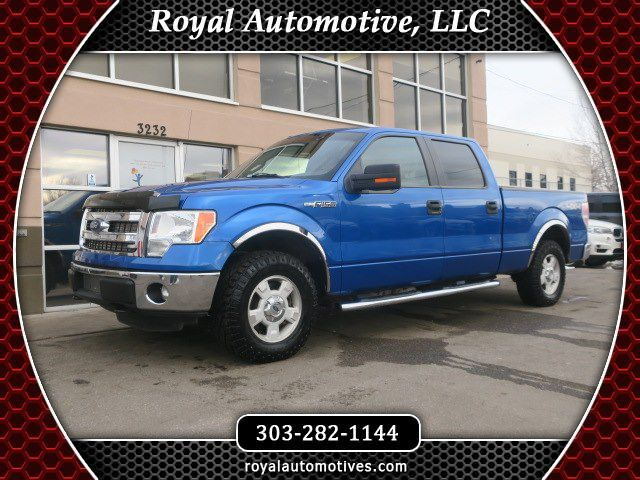 2014 FORD F150 SUPERCREW Englewood CO