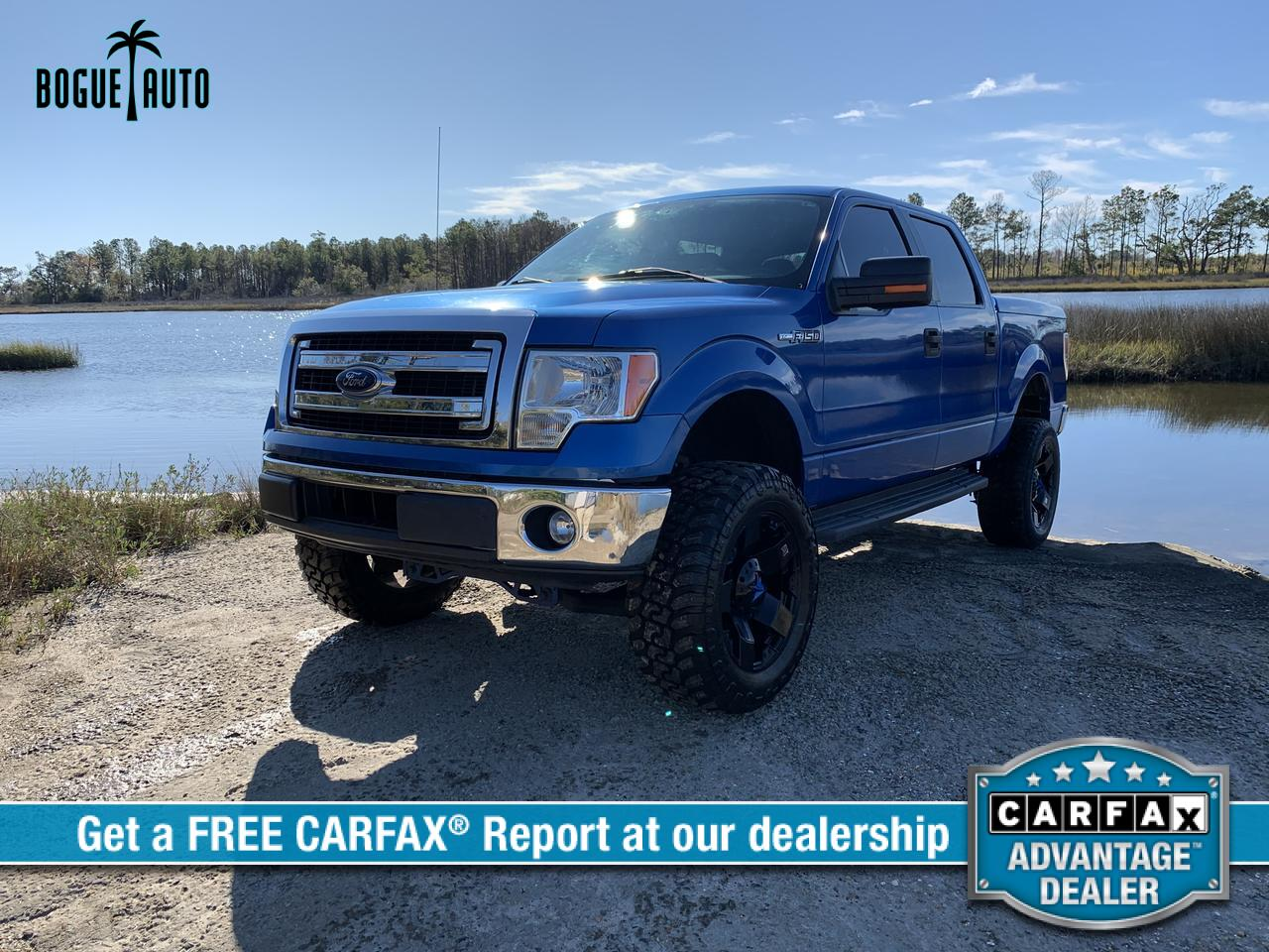 2014 FORD F150 SUPERCREW Newport NC