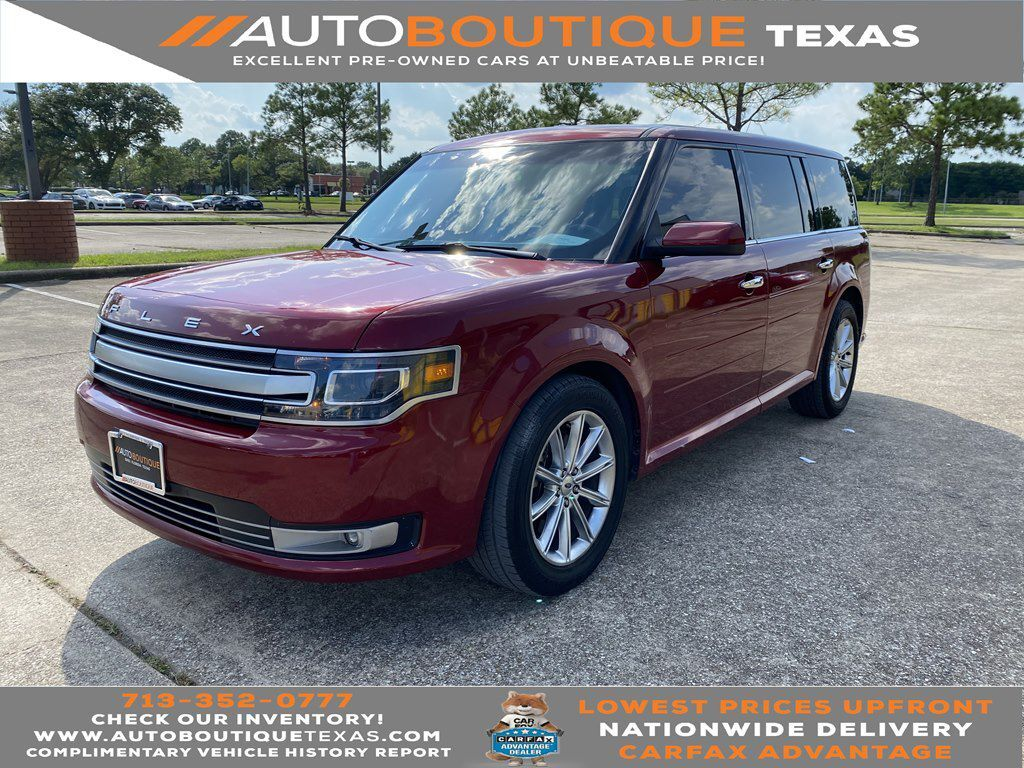 2014 FORD FLEX LIMITED LIMITED Houston TX