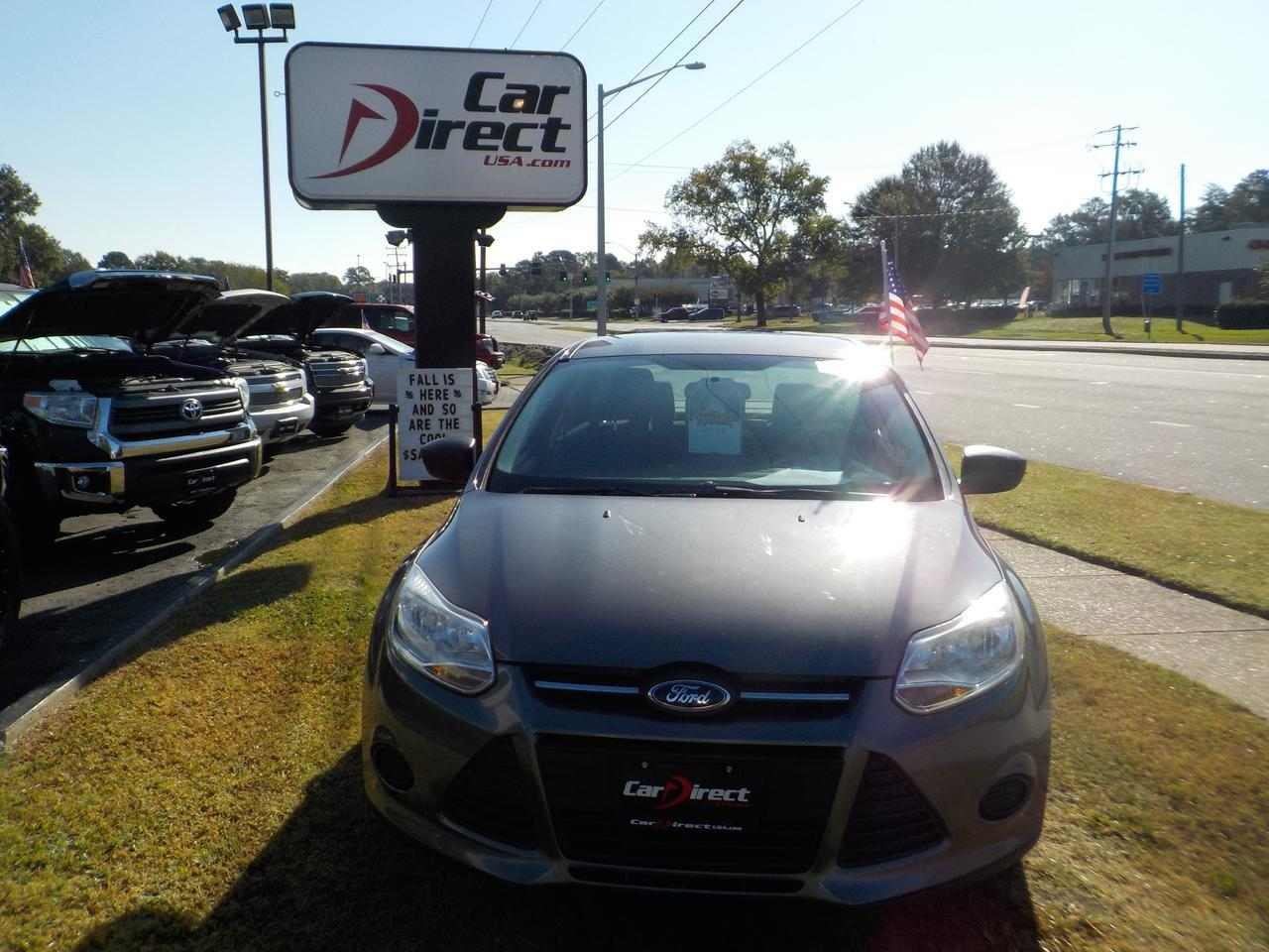 2014 FORD FOCUS S, WARRANTY, CRUISE CONTROL, CD PLAYER, AUX PORT! Virginia Beach VA