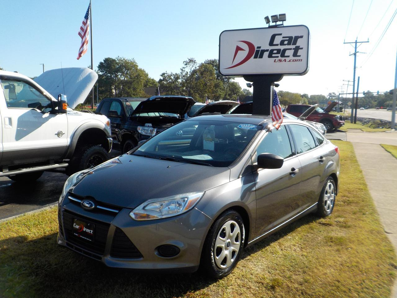 2014 FORD FOCUS S, WARRANTY, CRUISE CONTROL, CD PLAYER, AUX PORT!
