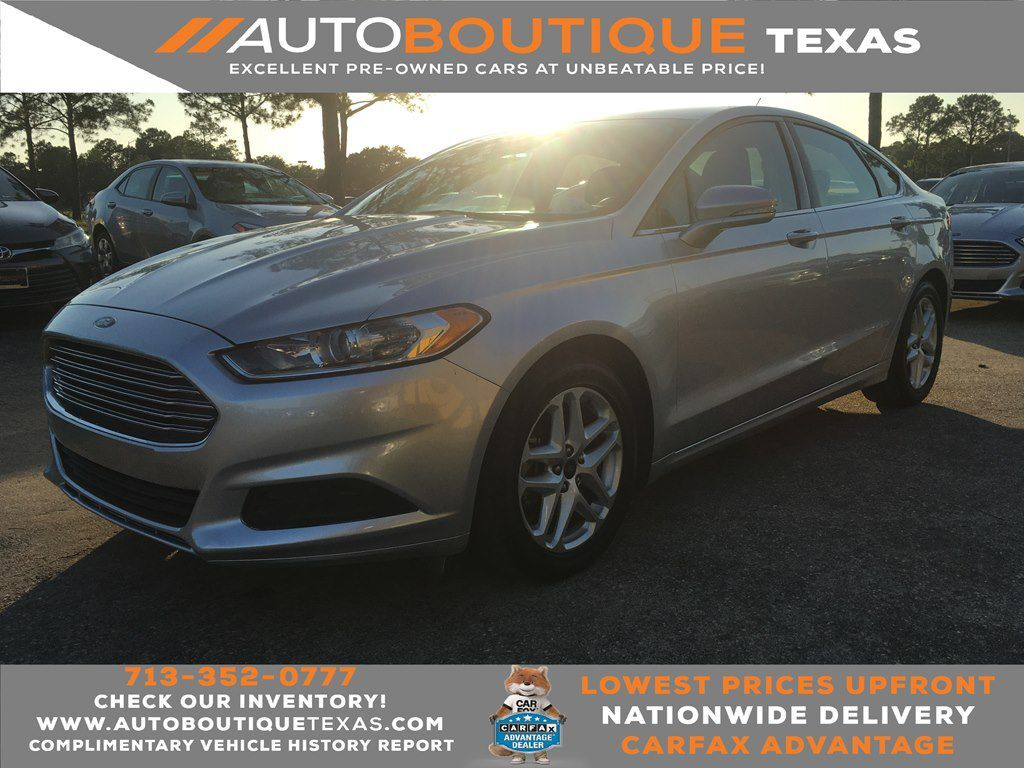 2014 FORD FUSION SE Houston TX