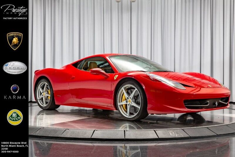 2014_Ferrari_458 Italia__ North Miami FL