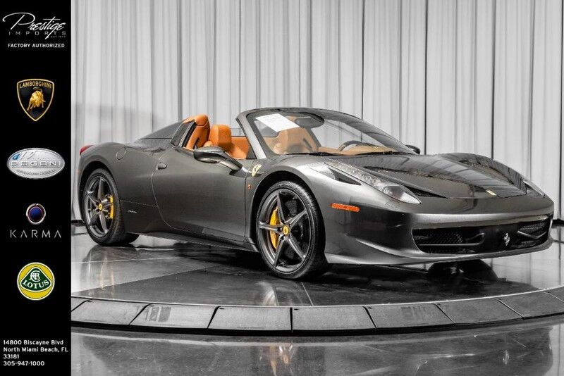 2014_Ferrari_458 Spyder__ North Miami Beach FL