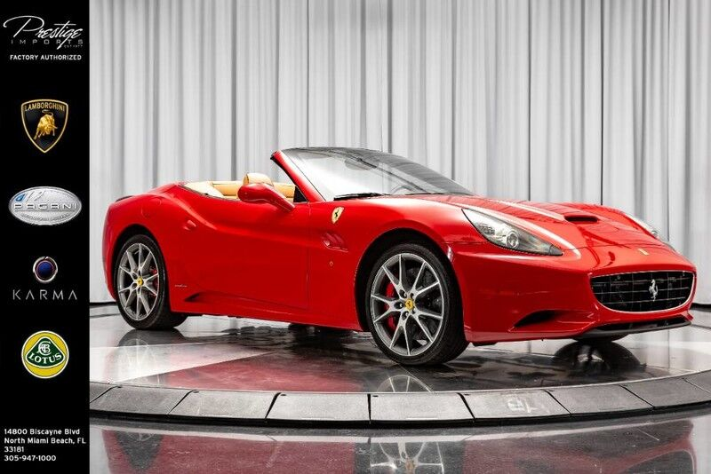 2014_Ferrari_California__ North Miami Beach FL