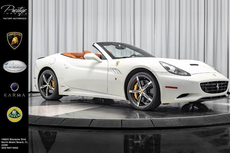 2014_Ferrari_California__ North Miami FL