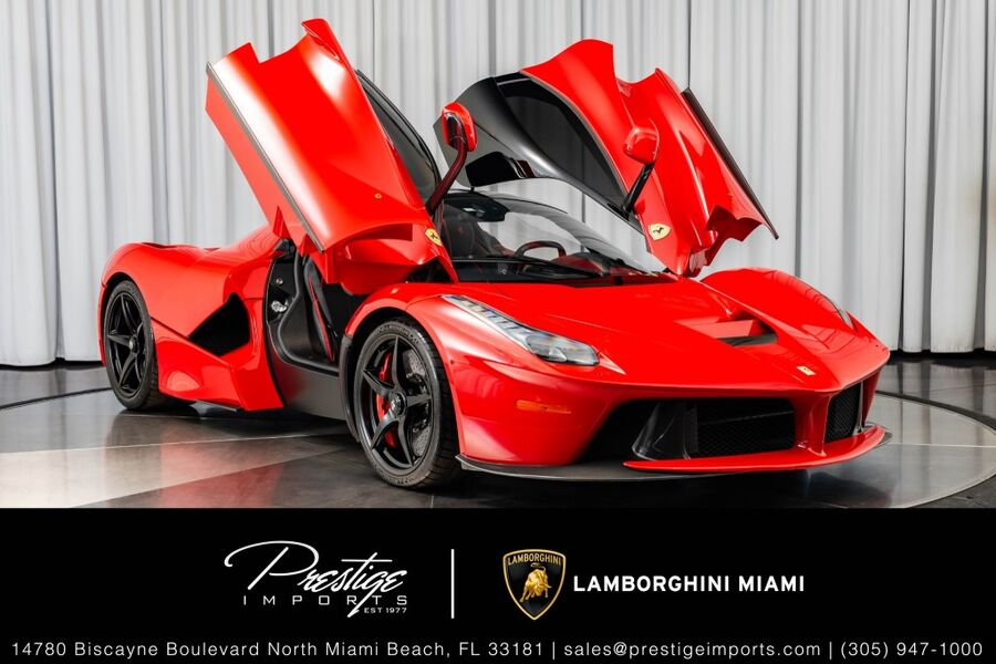 2014_Ferrari_LaFerrari__ North Miami FL