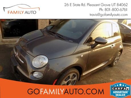 2014 Fiat 500e Battery Electric Hatchback Pleasant Grove UT