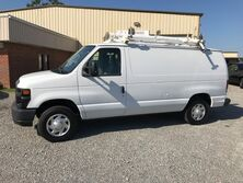Ford E150 H/Duty Cargo w/ Ladder Rack & Bins Commercial 2014