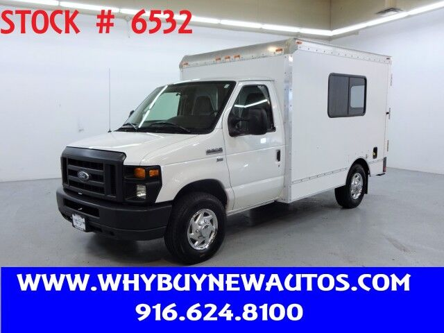 2014 Ford E350 ~ 10ft. Box Van ~ Only 71K Miles! Rocklin CA