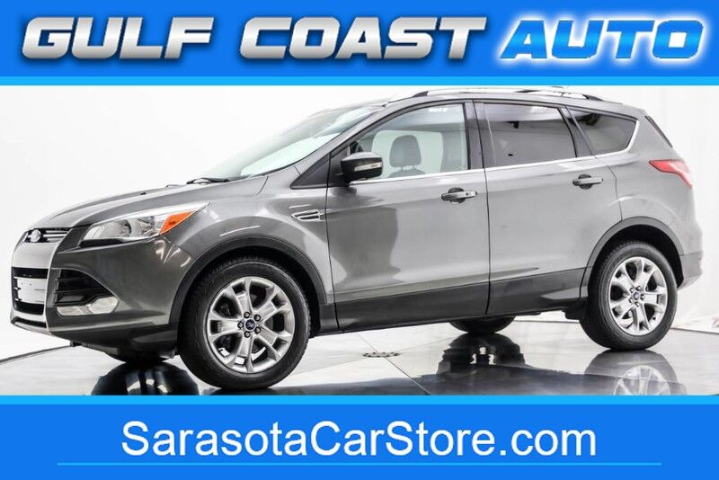 2014_Ford_ESCAPE_TITANIUM LEATHER NAVIGATION SUNROOF ECOBOOST LIKE NEW !!_ Sarasota FL