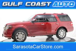 2014_Ford_EXPEDITION_LIMITED LEATHER NAVIGATION 3RD ROW SEAT WOOD TRIM RUNS GREAT !!_ Sarasota FL