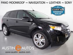 2014_Ford_Edge Limited_*NAVIGATION, PANORAMA MOONROOF, BACKUP-CAMERA, LEATHER, HEATED SEATS, SONY AUDIO, 20 INCH WHEELS, BLUETOOTH PHONE & AUDIO_ Round Rock TX
