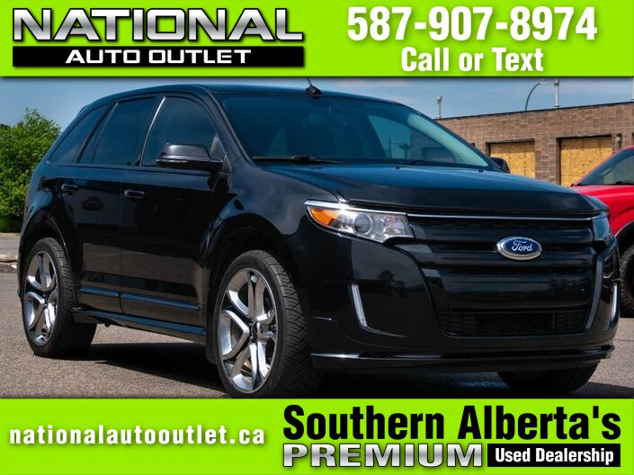 2014 Ford Edge Sport - HEATED LEATHER, MOON ROOF, CLEAN CAR PROOF Lethbridge AB