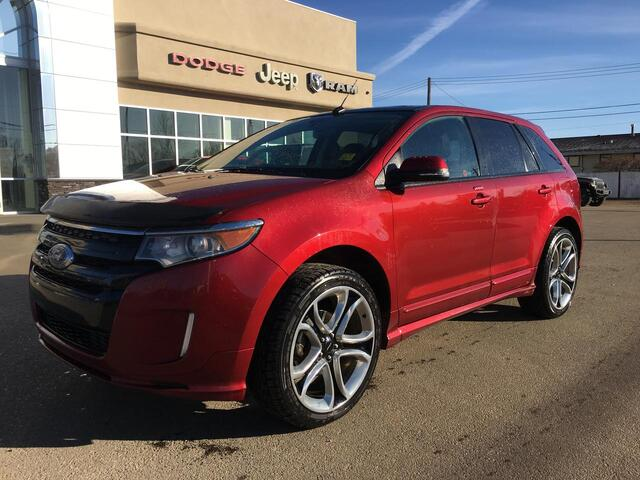 2014 Ford Edge Sport AWD Sunroof - NAV Redwater AB