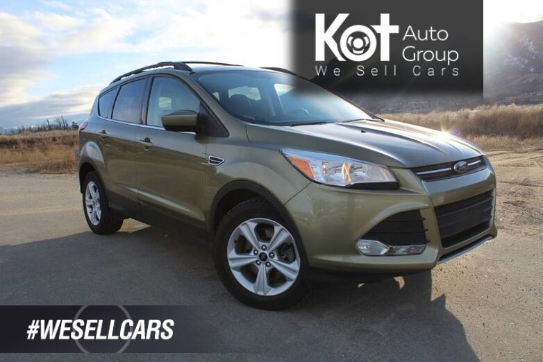 2014 Ford Escape FWD SE, NO ACCIDENTS, Panoramic Sunroof Kelowna BC
