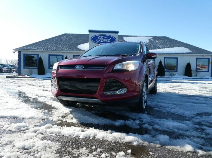 2014 Ford Escape Titanium - PANORAMIC ROOF - REMOTE START - NAVIGATION - LEATHER Essex ON