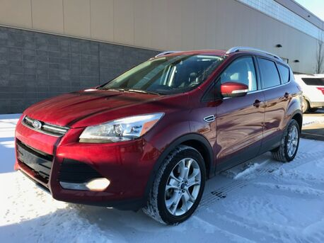 2014_Ford_Escape_Titanium AWD ~ 2.0 Liter EcoBoost ~ Touch Screen w/Nav ~  Back-up Cam ~ Low as $177 B/W 888-299-8130_ Sherwood Park AB
