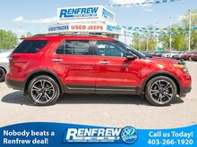 2014_Ford_Explorer_4WD Sport, Dual-Panel Sunroof, Navigation, Cooled/Heated Leather Seats, Remote Start, Bluetooth_ Calgary AB