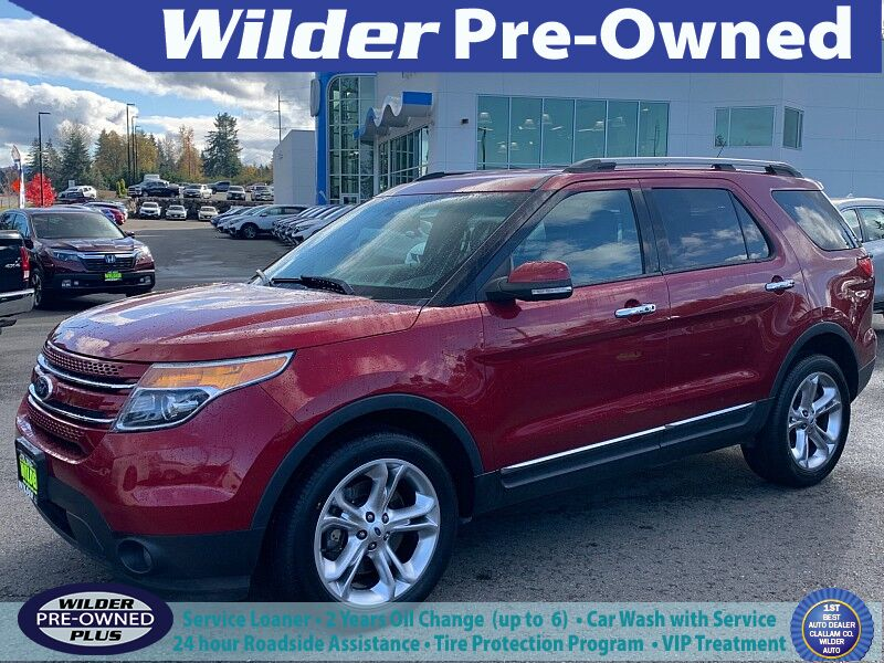 2014 Ford Explorer 4d SUV 4WD Limited Port Angeles WA