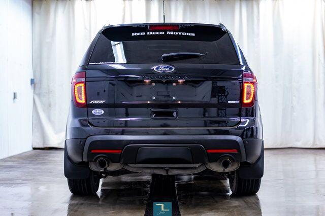 2014 Ford Explorer AWD Sport Leather Roof Nav BCam Red Deer AB