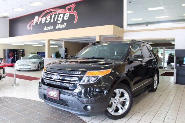 2014 Ford Explorer Limited -3rd Row, Heated Seats, Dual Sun Roofs Cuyahoga Falls OH