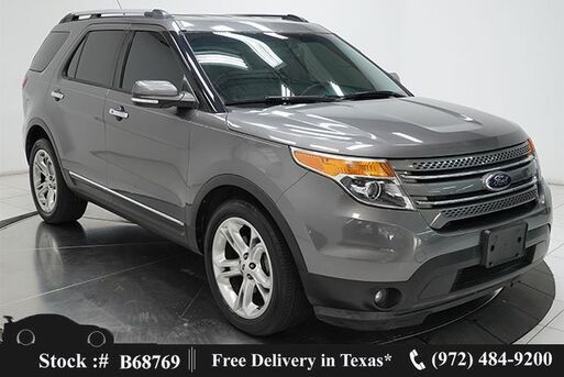 2014_Ford_Explorer_Limited CAM,HTD STS,PARK ASST,20IN WLS,3RD ROW_ Plano TX