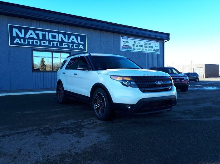 2014 Ford Explorer Sport - HEATED LEATHER, COMMAND START, BACK UP CAMERA Lethbridge AB