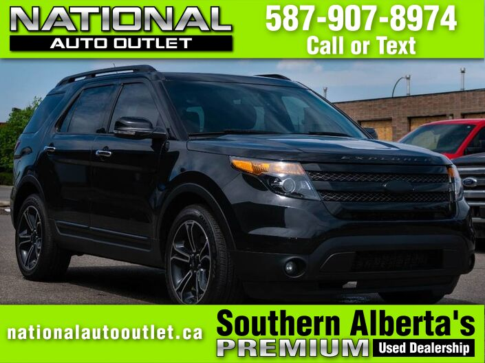 2014 Ford Explorer Sport - VISTA VIEW ROOF HEATED LEATHER - 7 PASSANGER Lethbridge AB