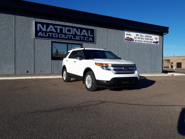 2014 Ford Explorer XLT - 7 PASSENGER, HEATED CLOTH SEATS, POWER GATE Lethbridge AB