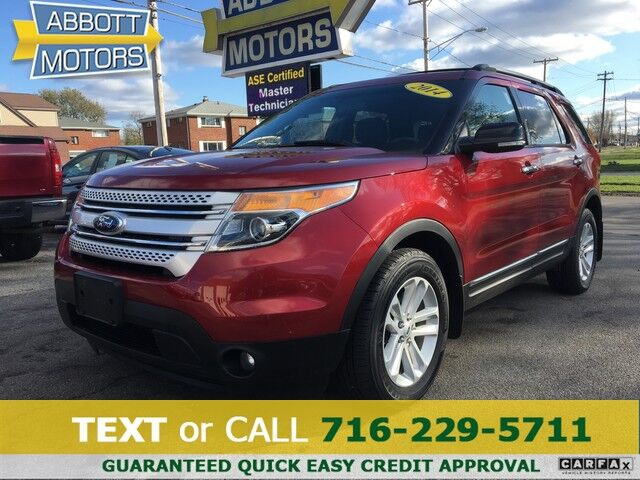 2014 Ford Explorer XLT 4WD 1-Owner w/3rd Row Seat Buffalo NY