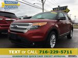 2014 Ford Explorer XLT 4WD w/Heated Leather & Pano Roof