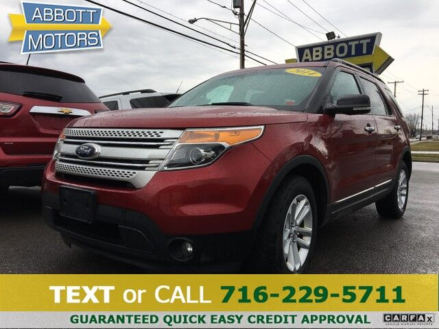 2014 Ford Explorer XLT 4WD w/Heated Leather & Pano Roof Buffalo NY