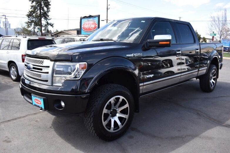 2014 Ford F-150 4WD SuperCrew 157 Platinum Bend OR