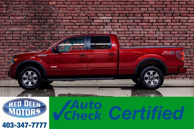 2014 Ford F-150 4x4 Super Crew FX4 Leather Roof Nav BCam Red Deer AB