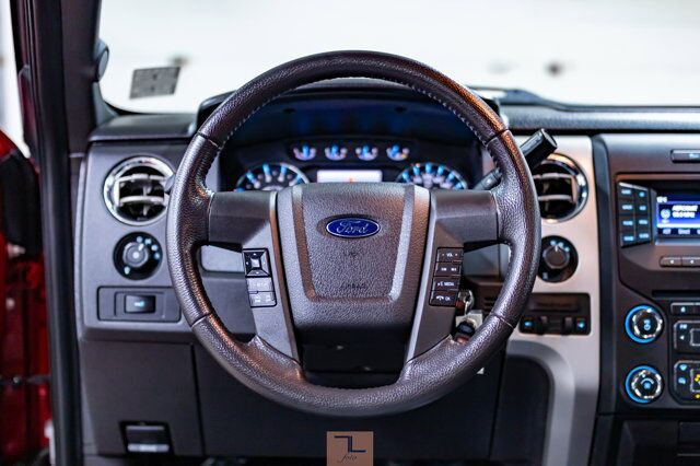 2014 Ford F-150 4x4 Super Crew XLT XTR Longbox Leather Roof BCam Red Deer AB
