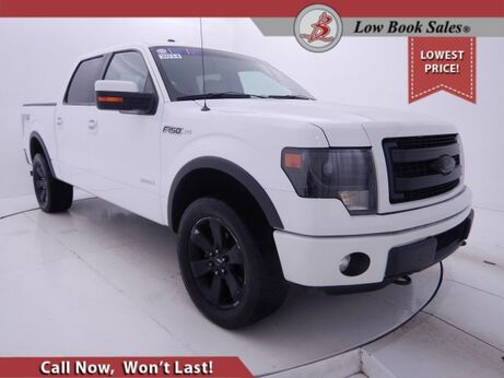 2014_Ford_F-150_CREW CAB 4X4 FX4 3.5 ECOBOOST_ Salt Lake City UT