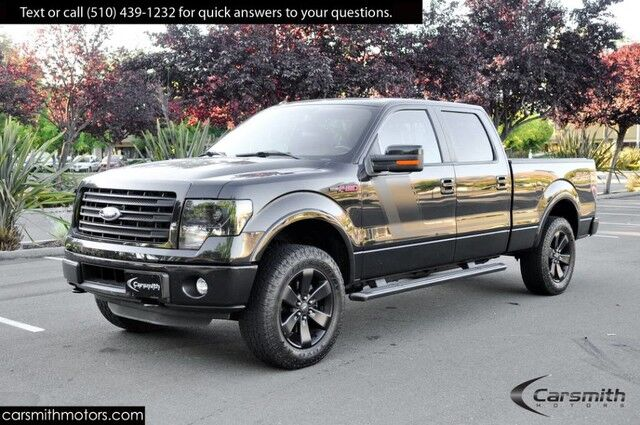 2014 Ford F-150 FX4--LOADED! Nav, Leather, Tow Package, SunRoof & MORE! Fremont CA