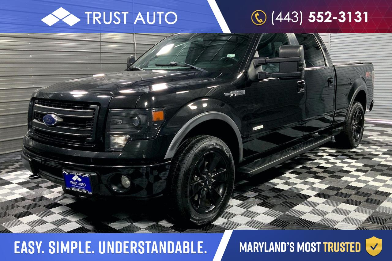2014 Ford F-150 FX4 4WD 6.6FT Crew Cab Pickup Truck Sykesville MD