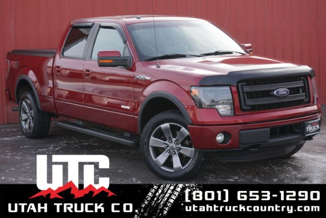 2014 Ford F-150 FX4 SuperCrew 6.5-ft. Bed 4WD Lehi UT