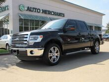 2014_Ford_F-150_Lariat SuperCrew 5.5-ft. Bed 2WD LEATHER, HTD/CLD FRONT STS, NAVIGATION, SUNROOF, BACKUP CAM, TOWING_ Plano TX