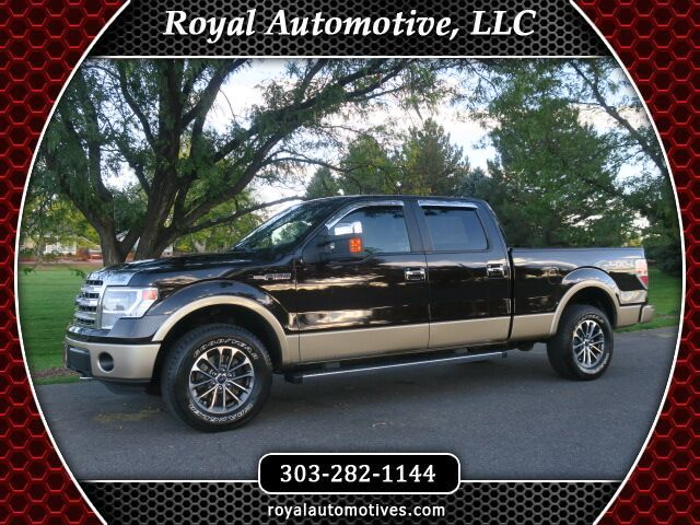 2014 Ford F-150 Lariat w/NAVIGATION and SUNROOF Englewood CO