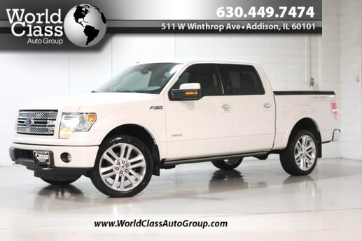 2014 Ford F-150 Limited - AWD HEATED POWER LEATHER SEATS SUN ROOF NAVIGATION BACKUP CAMERA PARKING SENSORS POWER RUNNING BOARDS Chicago IL