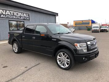 Ford F-150 Limited - LOW KLMS, NAV, TONNEAU COVER, HEATED AND COOLED SEATS Lethbridge AB