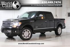 2014_Ford_F-150_Platinum - AWD SUN ROOF POWER RUNNING BOARDS POWER HEATED LEATHER SEATS DUAL CLIMATE CONTROL NAVIGATION BACKUP CAMERA POWER FOLDING SIDE MIRRORS_ Chicago IL